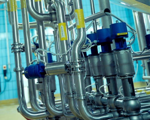 process sanitary valve group