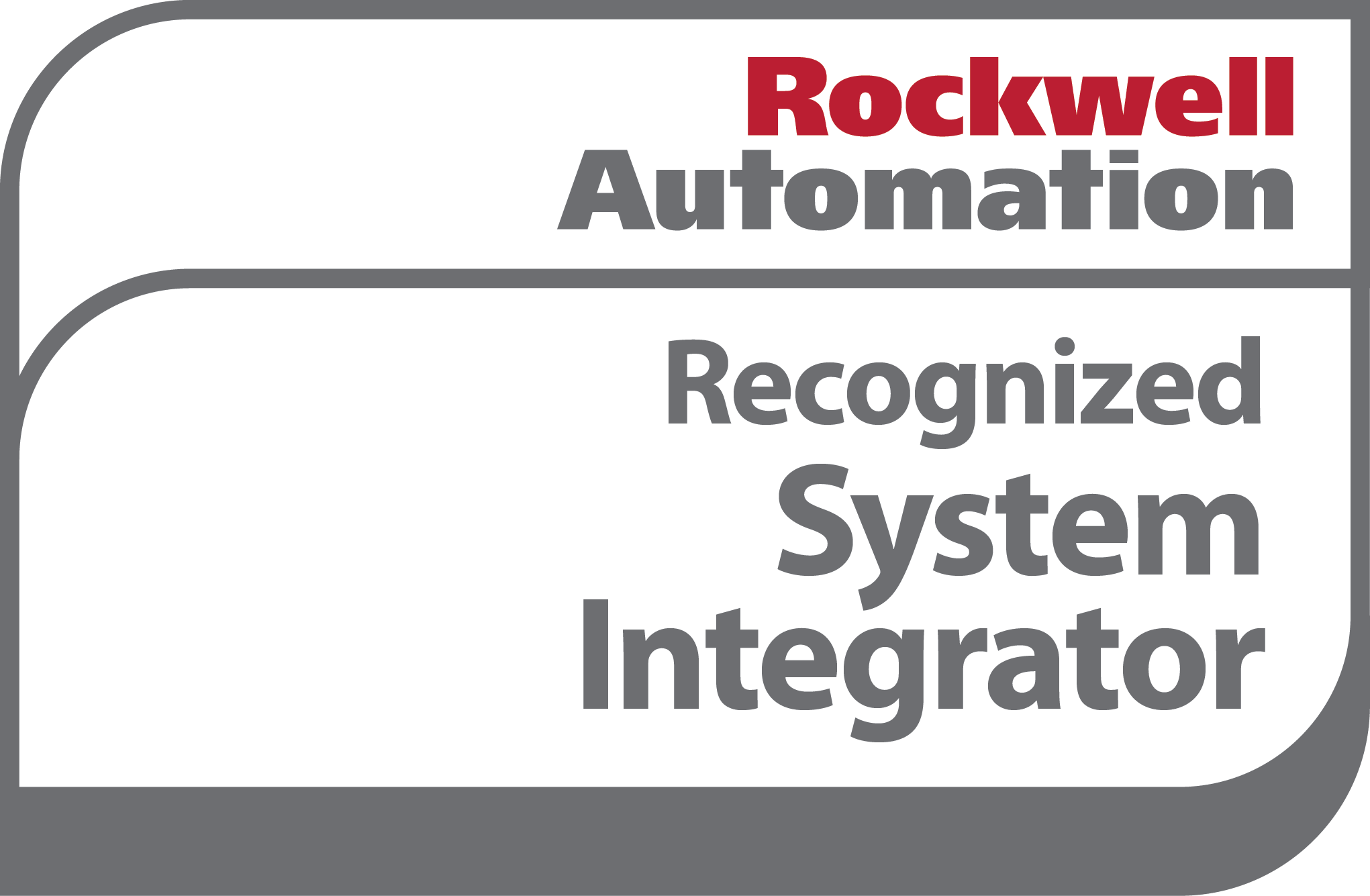 Rockwell Automation Recognized Systems Integrator logo